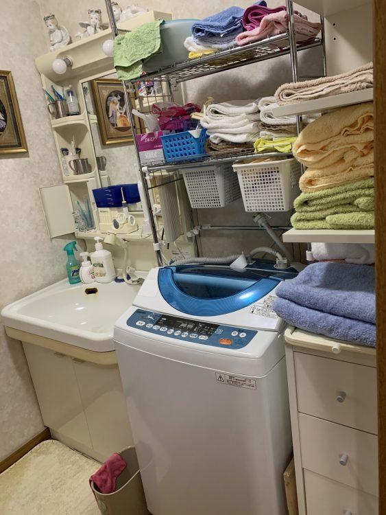 洗面台施工前