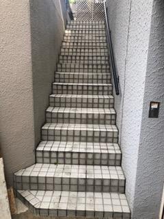 階段施工前
